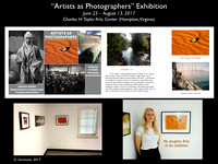 """Artists as Photographers"" invitational exhibition"