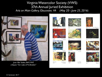 VWS 37th Annual Juried Exhibition-2016