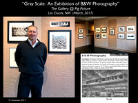 """Gray Scale: An Exhibition of B&W Photography"""